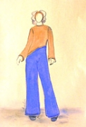 Figurino de Maria Luiz