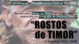 Rostos de Timor - Recital