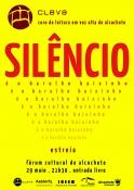 Cartaz - Silêncio é o barulho baixinho