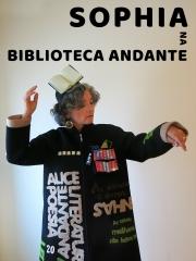 Cartaz - Sophia na Biblioteca Andante
