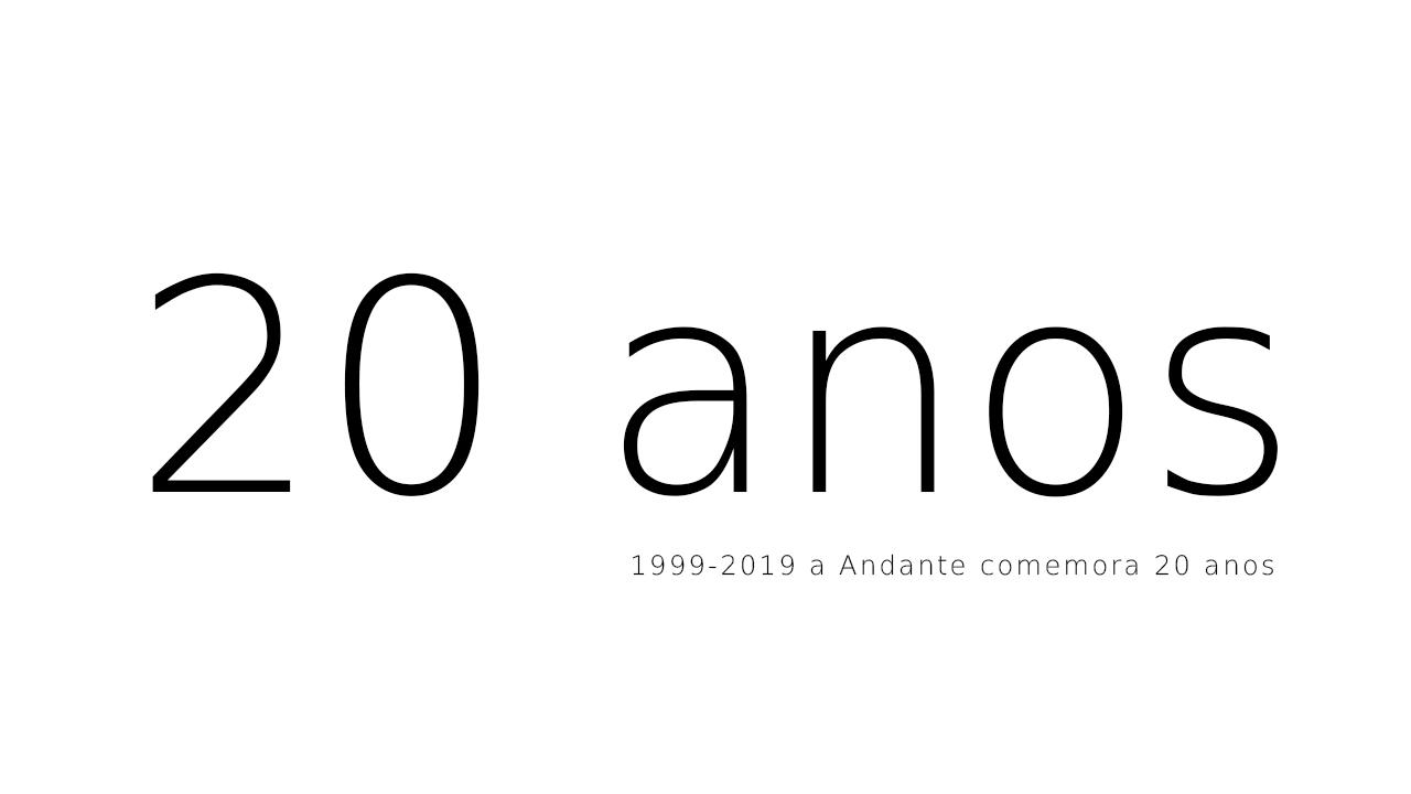 A Andante celebra 20 anos