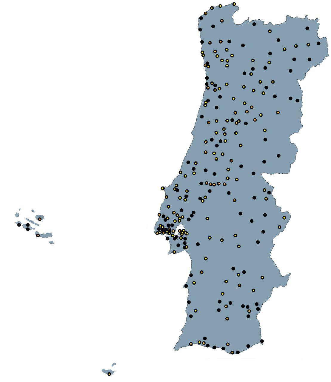 em Portugal